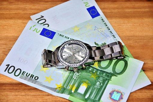 Money, Wealth, 100, Euro, Currency, Dollar Bill
