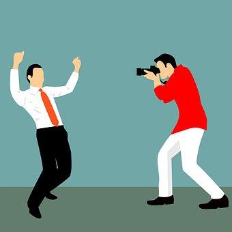 Photographer, Business, Winning, Success, Studioshot