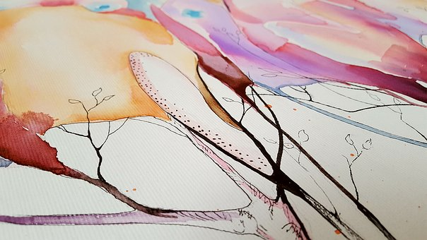 Art, Painting, Abstract, Canvas, Coloring, Watercolor