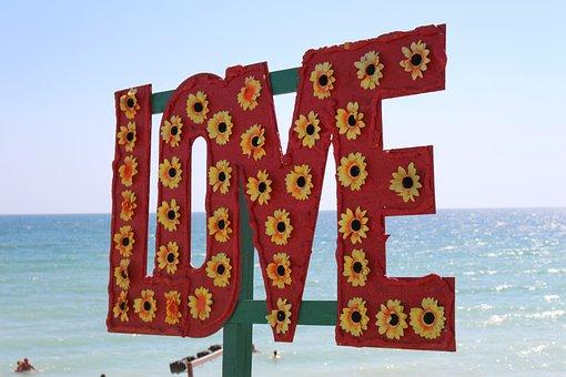Alphabet, Summer, Sea, Water, Beach, Love, Vacation