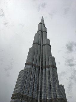 Architecture, Building, Big City, Torre, Modern, Dubai