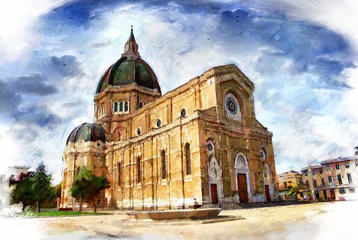 Architecture, Building, Travel, Old, Religion