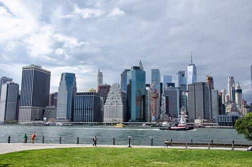 Skyscraper, Architecture, City, Skyline