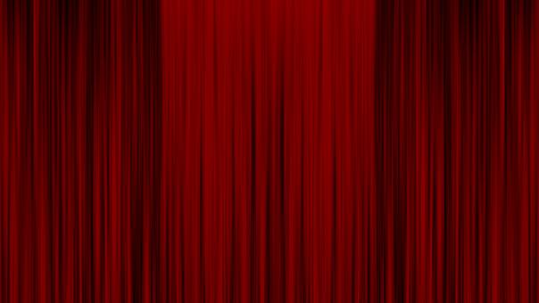 Curtain, Cinema, Theater, Stage, Film, Presentation