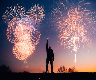 Fireworks, Celebration, Festival, Flame, Explosion