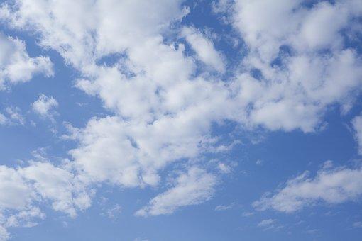 Sky, Cloud, Clouds, Blue, White, Landscape