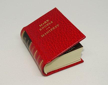 Book, Manifest, Karl Marx, Friedrich Engels