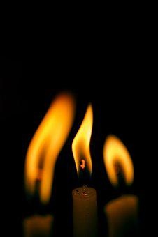 Flame, Burn, Burnt, Flammable, Dark, Candle, Meditation