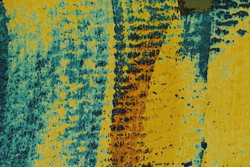 Yellow, Fabric, Textile, Texture, Macro, Photo, Model