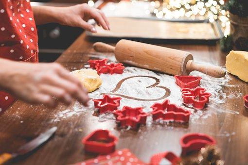 Tables, Love, Red, Flour, Christmas