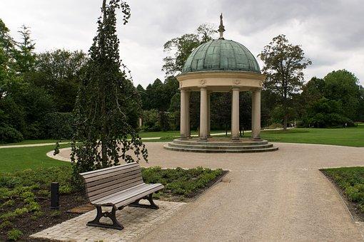 Rush, Garden, Architecture, Park, Bad Pyrmont, Kurpark