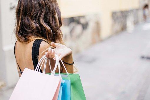 Woman, Shopping, Lifestyle, Beautiful, Adult