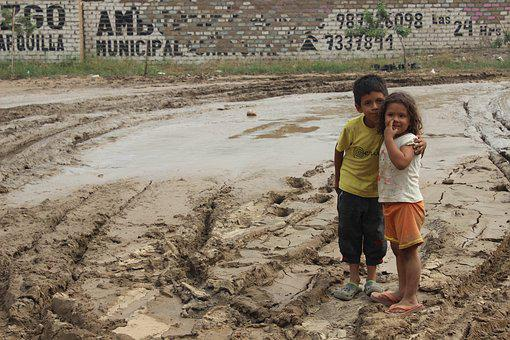 Open Air, People, Soil, Child, Mud, Sand