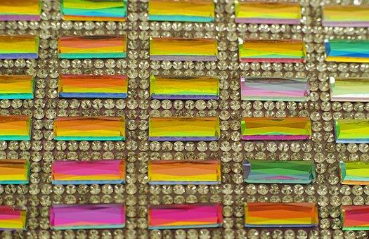 Colors, Color, Yellow, Bag, Stone, Macro, Pattern