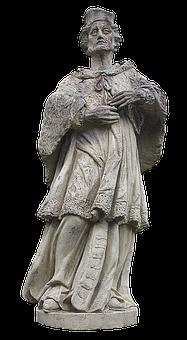 Sculpture, Statue, Nepomuk, Monument, Male, Stone