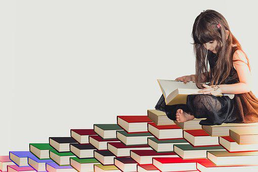 Girl, White, Fun, Kid, Literature, Elementary