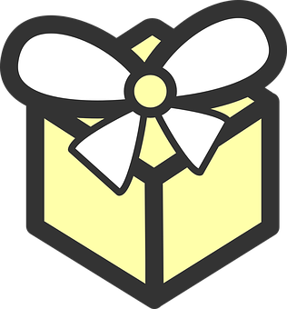 Present, Gift, Birthday, Bow, White, Wrapped, Tied