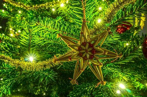Christmas, Tree Decorations, Celebration, Winter