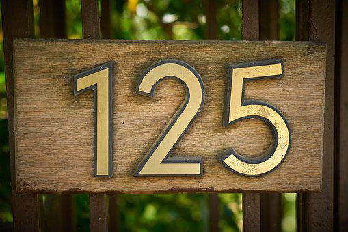 Figure, Door, Number, 125, Wood-fibre Boards, Address