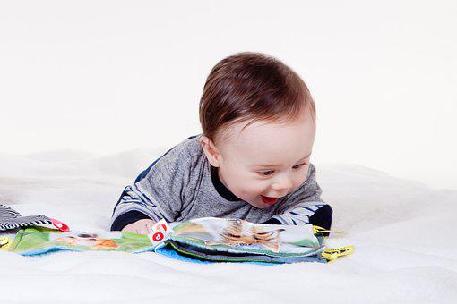 Child, Charming, Baby, Booklet, Book Preview