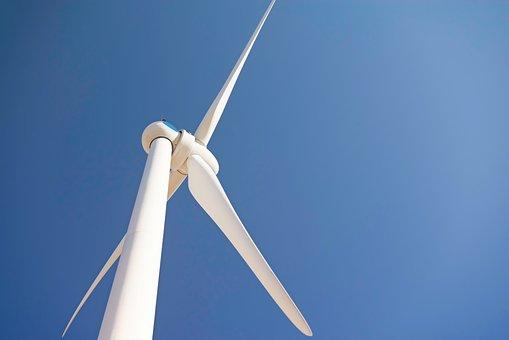 Wind, Windmill, Turbine, Wind Turbine, Clean, Blue