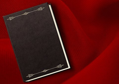 Book, Embossing, Ornament, Embossed, Empty, Book Cover