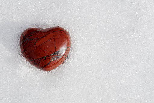 Background, Form, Love, Close Up, Heart, Red, Texture