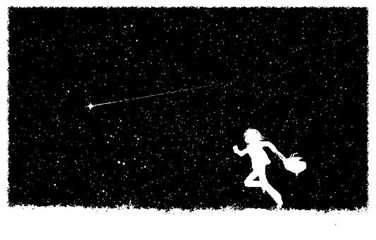 Sky, Night, Falling Star, Dream, Fairy Tale, Cosmos