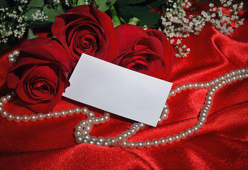 Rose, Love, Wedding, Background, Flower, Shining, Card