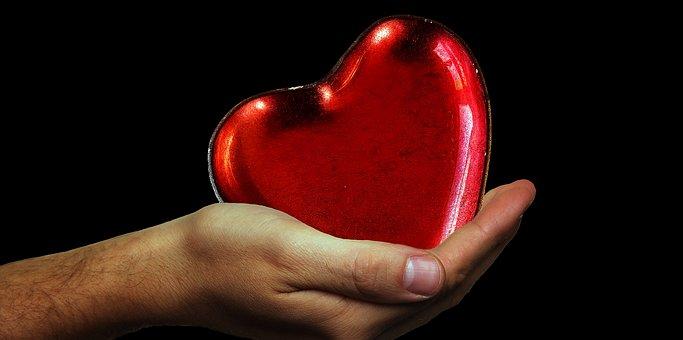 Heart, Hands, Heart Give Away, Love, Romance, Feelings