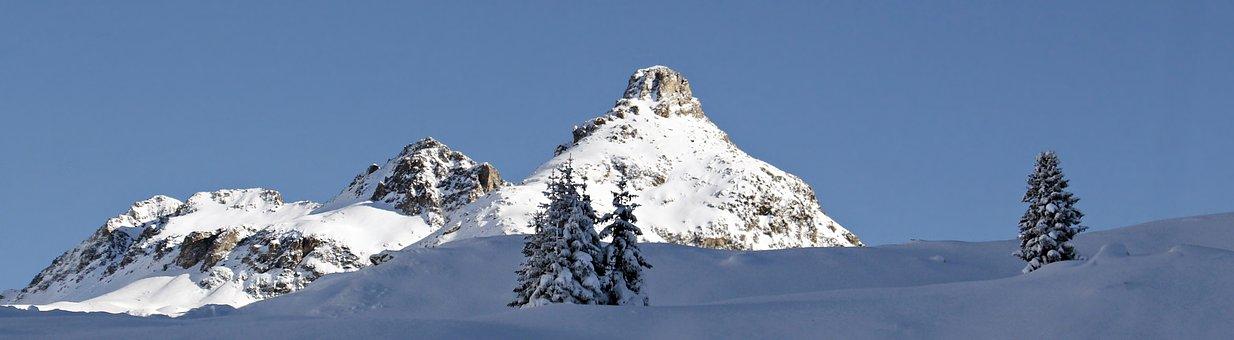 July Pass, Mountain Pass, Snow, Mountain, Ice, Panorama