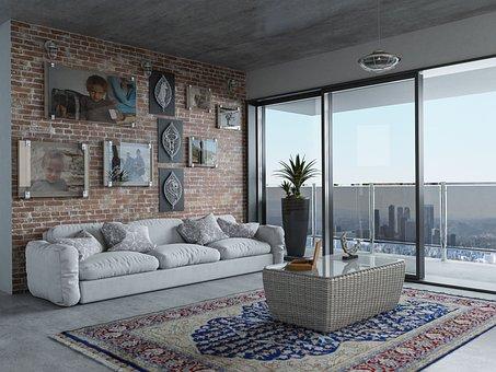 Window, Furniture, Room, Inside The House, Home, Sofa