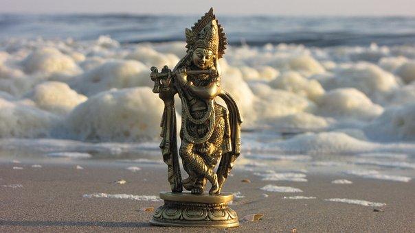 Figure, Krishna, Hinduism, Spirituality, Indian, Statue