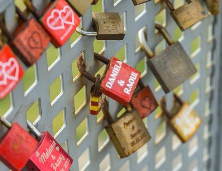 Castle, Love, Love Locks, Padlocks, Love Castle