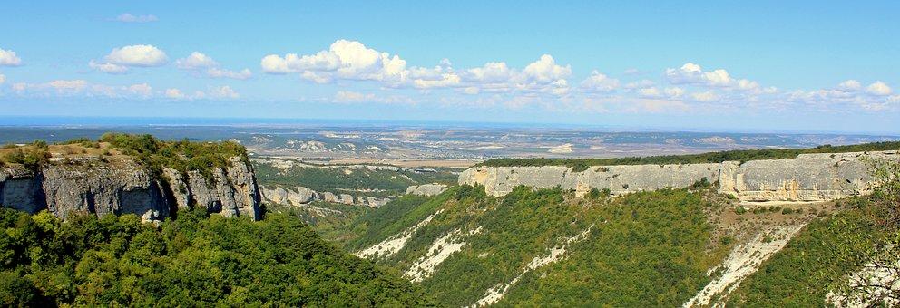 Panoramic, Nature, Panoramic Photo, Landscape, Summer