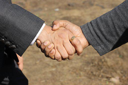 People, Man, Adult, Cooperation, Partnership, Hand