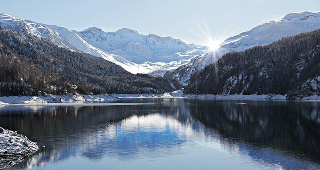 July Pass, Reservoir, Marmorera-stausee