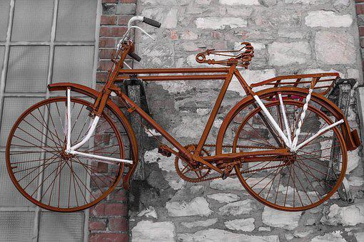 Bike, Old, Vintage, Antique, Rusty, Classic, Aged
