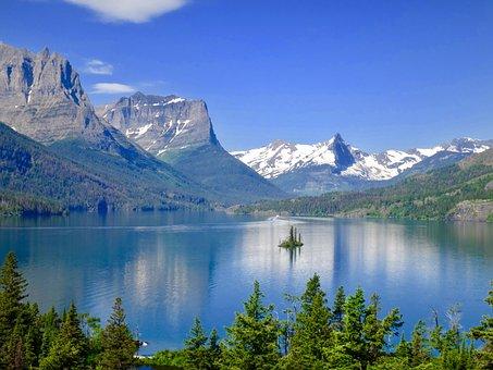 Saint Mary Lake, Wild Goose Island
