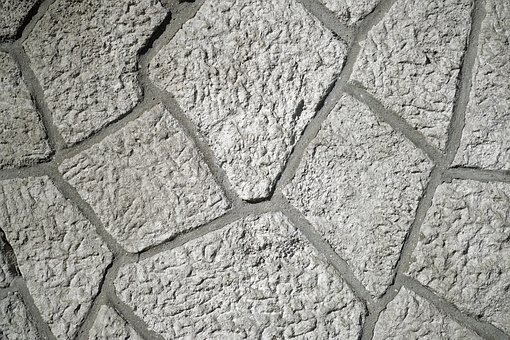 Stone, Wall, Concrete, Old, Nobody, Background, Macro