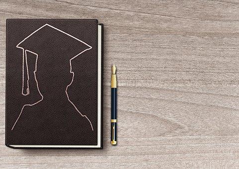 Book, Table, Filler, Students, Fountain Pen, Graduate