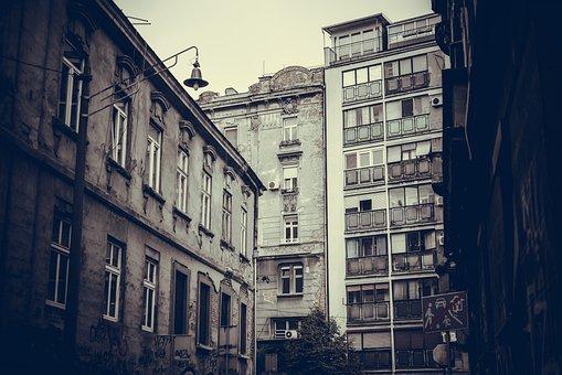 Street, Serbia, Belgrade, Urban, Location, Balkan, Town