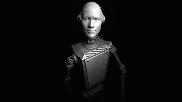 Adult, Robot, Droid, Installation, 3d, Wallpaper
