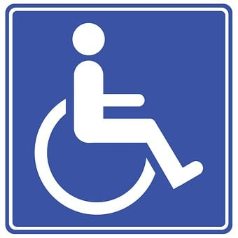 Access, Accessibility, Badge, Blue, Care, Chair