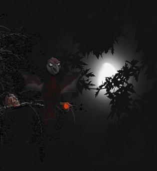Spooky, Creepy, Halloween, Scare, Afraid, Horror, Dark