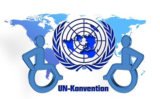 Barrier, Disability, United Nations, Blue, Logo, Un