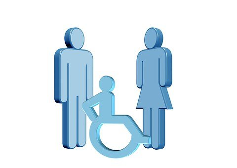 Barrier, Disability, Family, Locomotion, Handicap, Icon