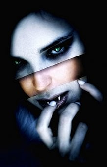 Portrait, Woman, Fashion, People, Adult, Dark