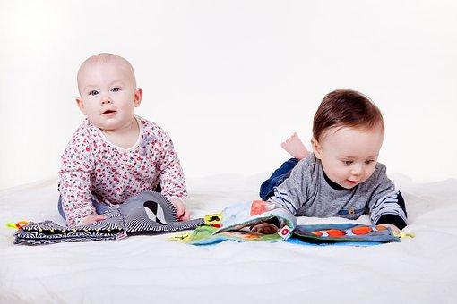 Child, Children, Fun, Baby, Little Thing, Booklet