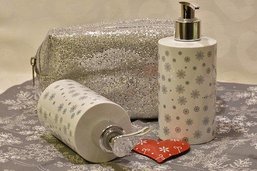 Hygiene, Bottle, Container, Hand Cream, Giftset Set